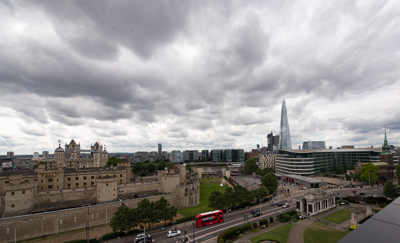 View over Tower of London