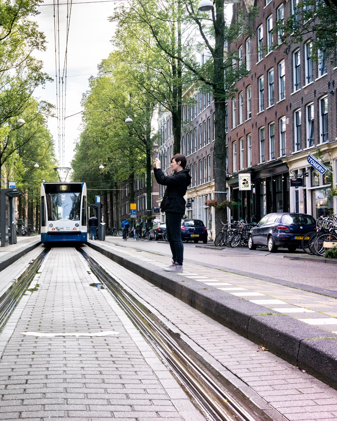 Me in Amsterdam, photo by  @ekkieboy