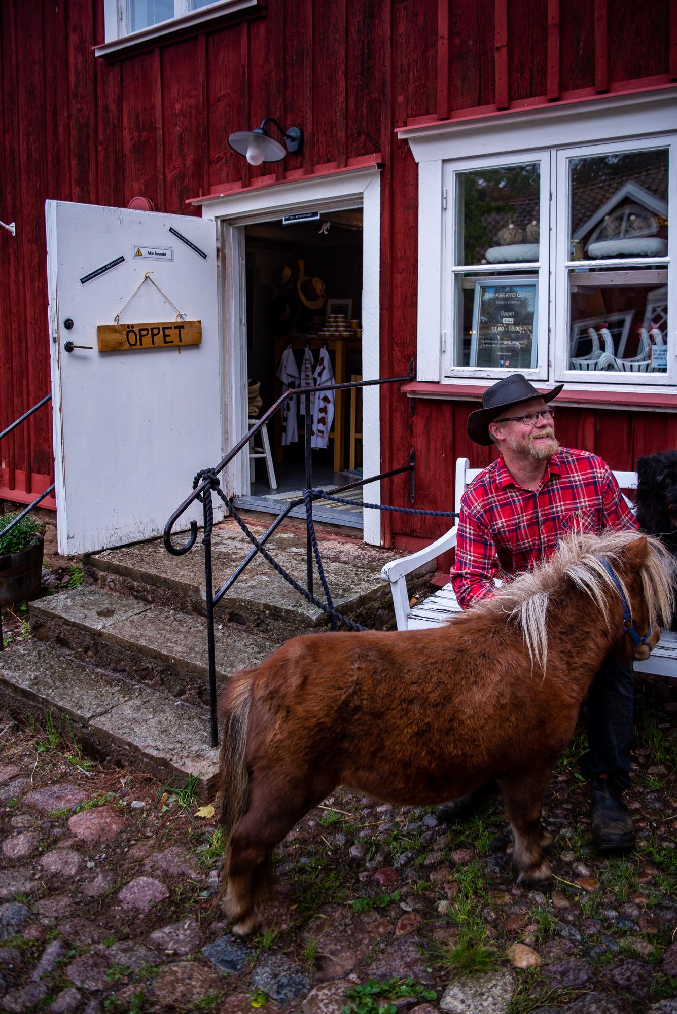 Gränna- meeting the locals