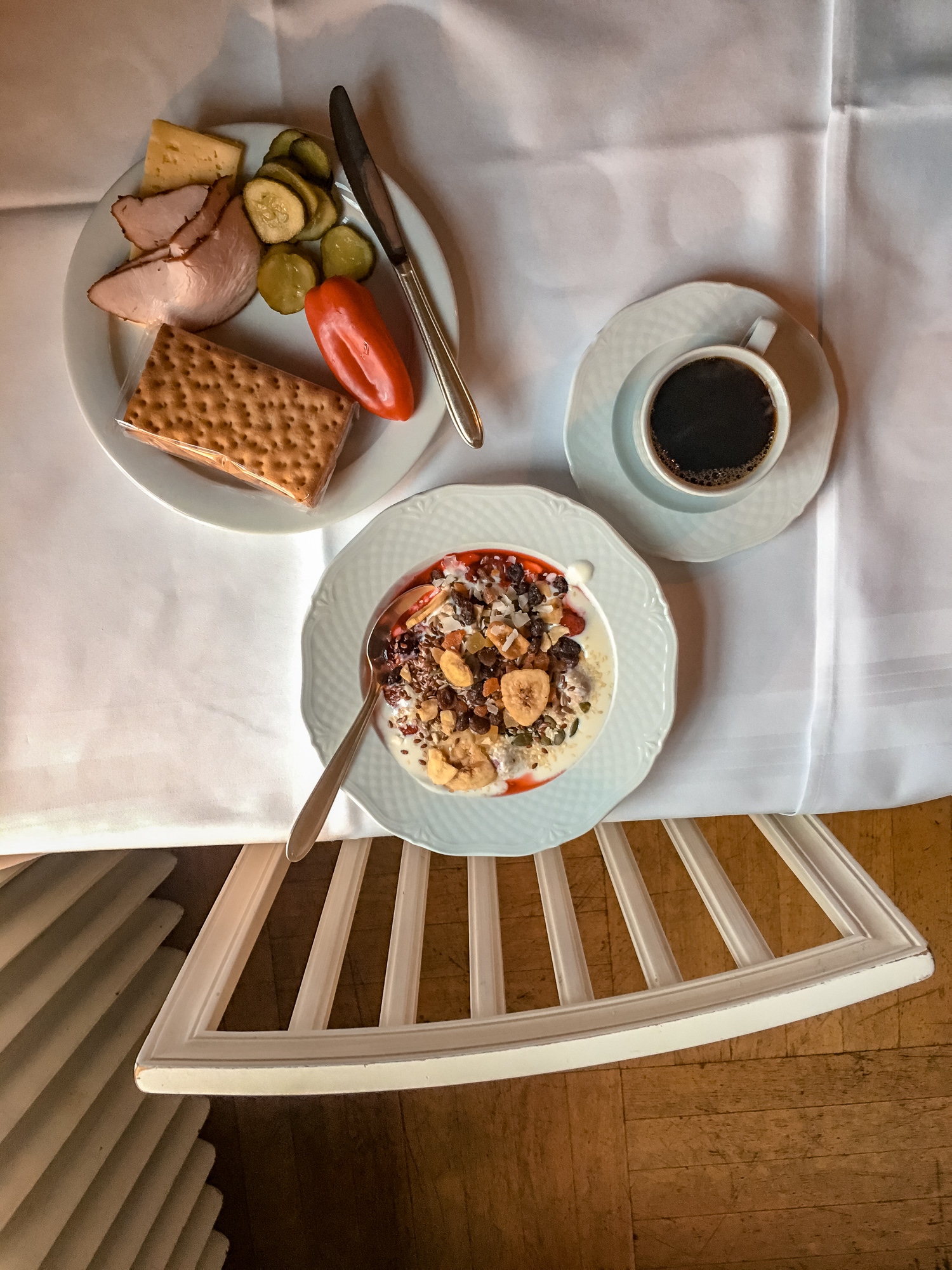 Breakfast at Hooks Herrgård