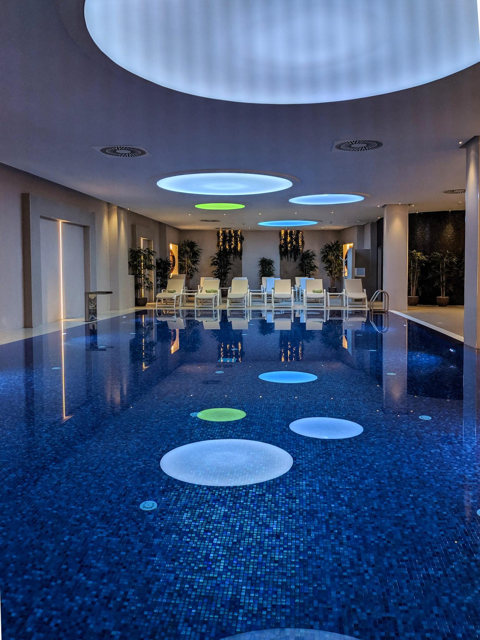 The swimming pool at  Iberostar .