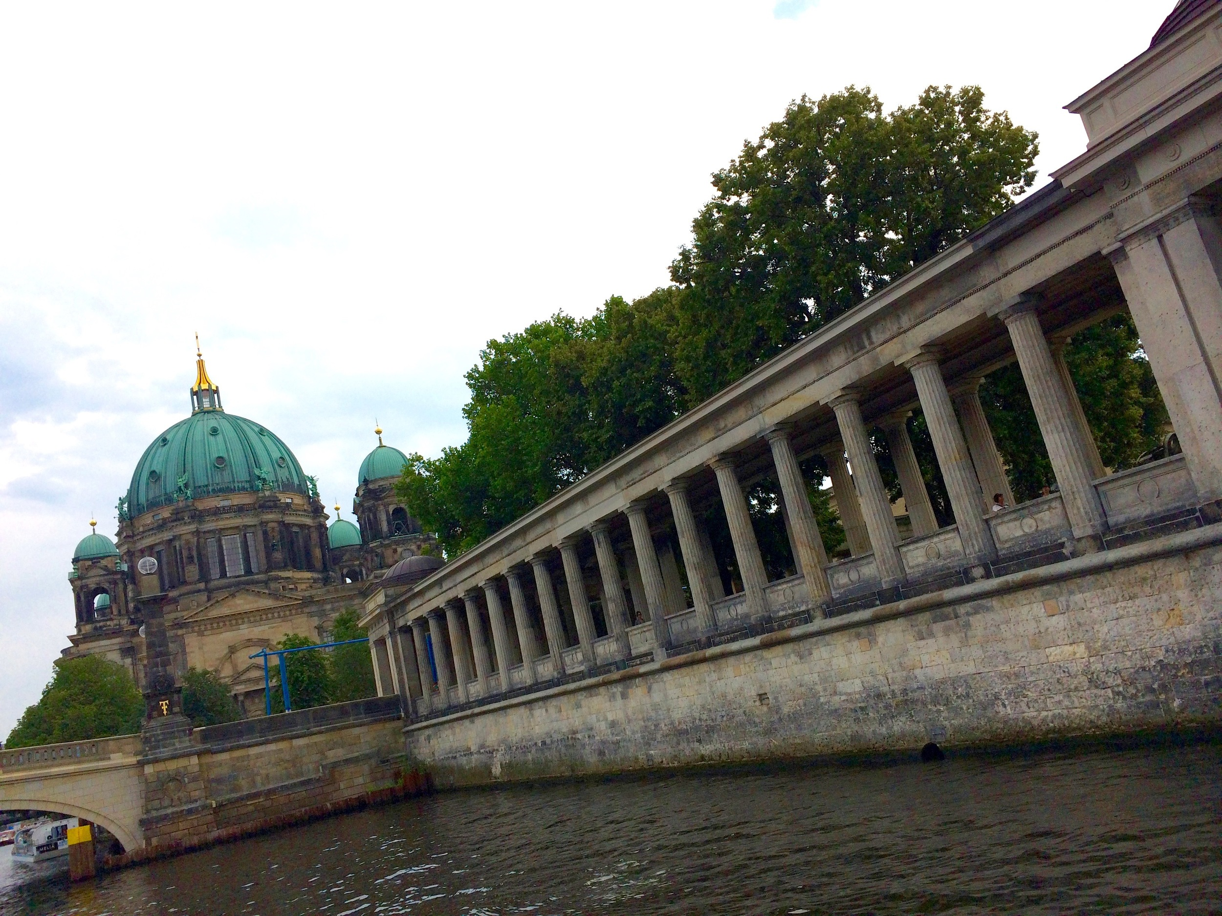 Museum Insel from the Spree Image © Melinda Barlow