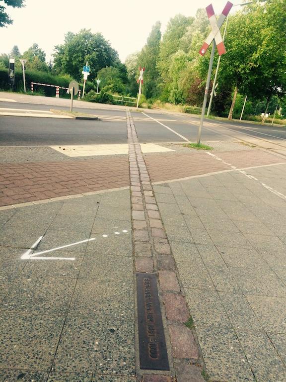 Berliner Mauerweg, at Märkisches Viertel © melinda barlow