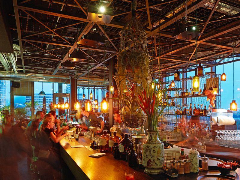 The Monkey bar © 25 hours hotel