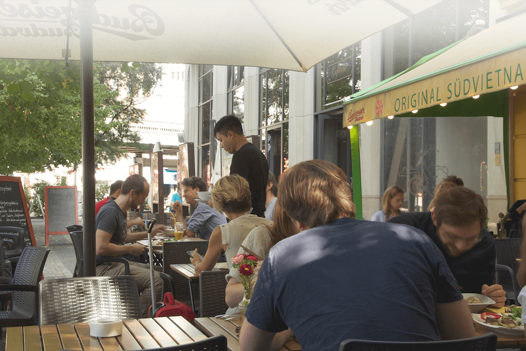 Miss saigon is great for outdoor dining on those long warm summer nights. image © Miss saigon