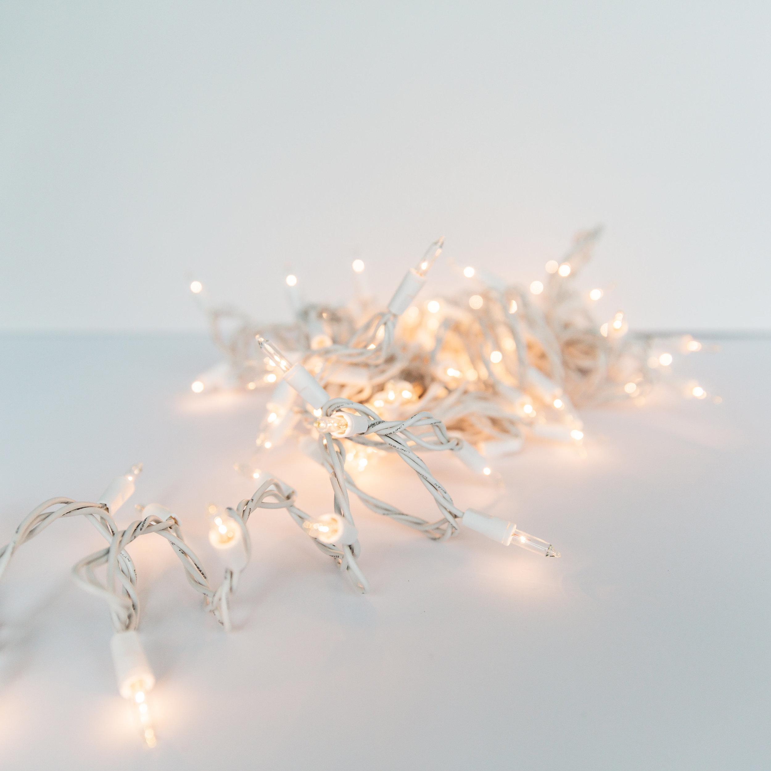 100 Bulb White String Lights  >>>$1.00 each<<<