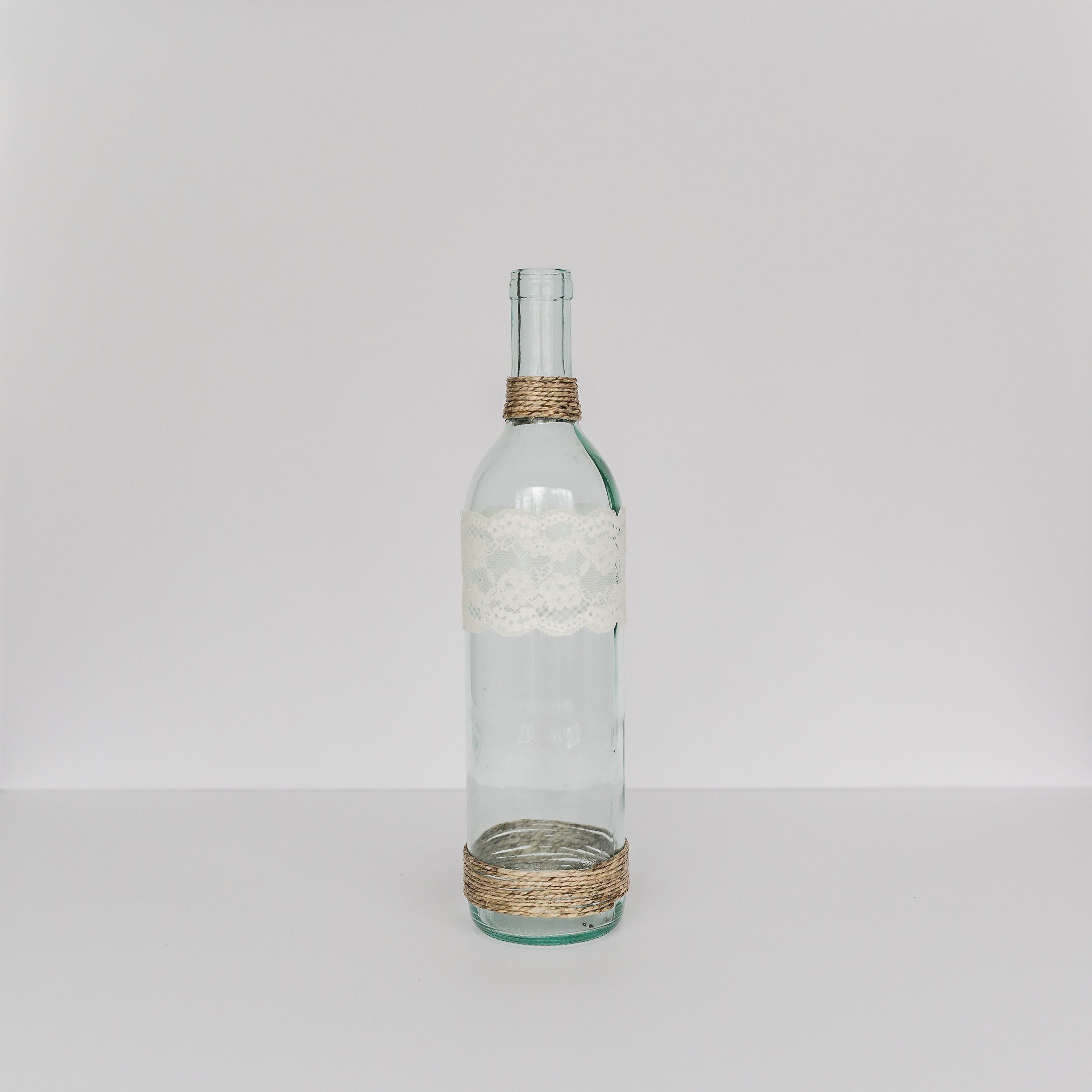 Glass Bottle Vase  height: average 13 inches >>>$0.75 each<<<