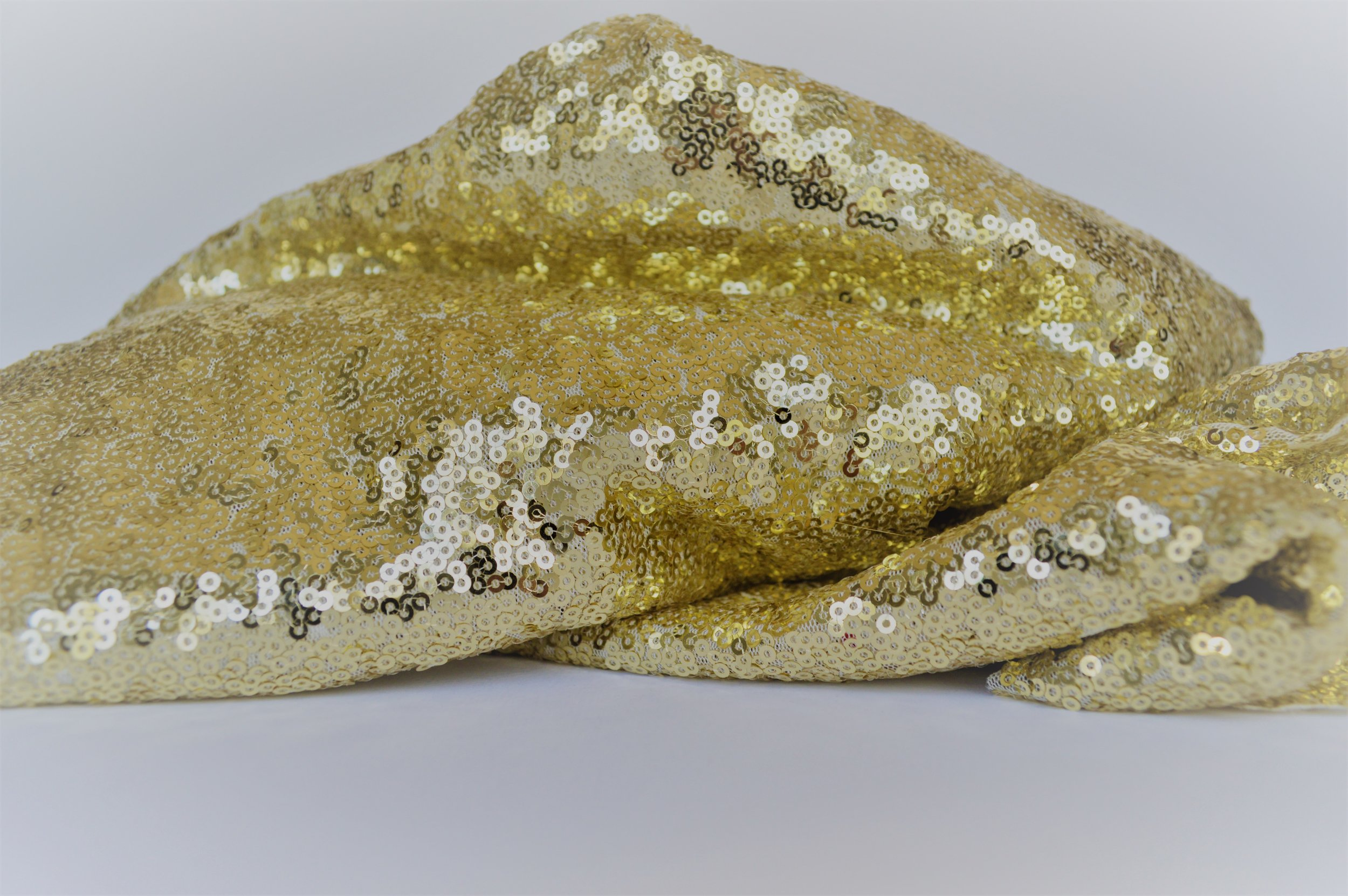 Gold Sequin Tablecloths/Runners  dimensions: THREE sizes: 48''x48'', 14''x88'', & 48''x66'' >>>$4.00 each<<<