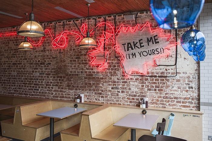 chooks restaurant design