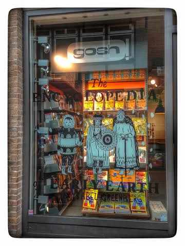 gosh comics london