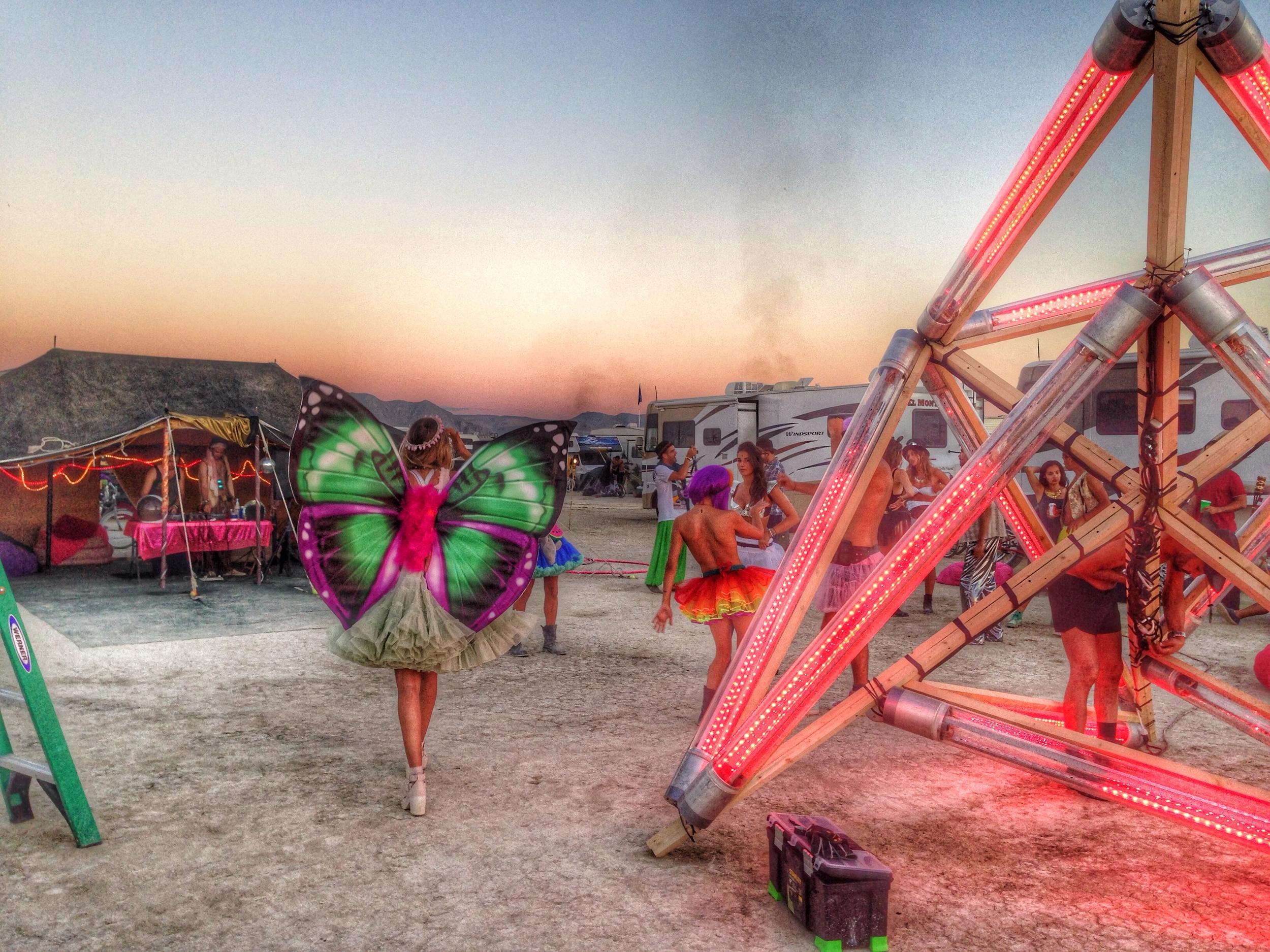 Campi Camp Burning Man 2014