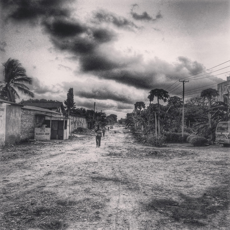 Road to Ukunda
