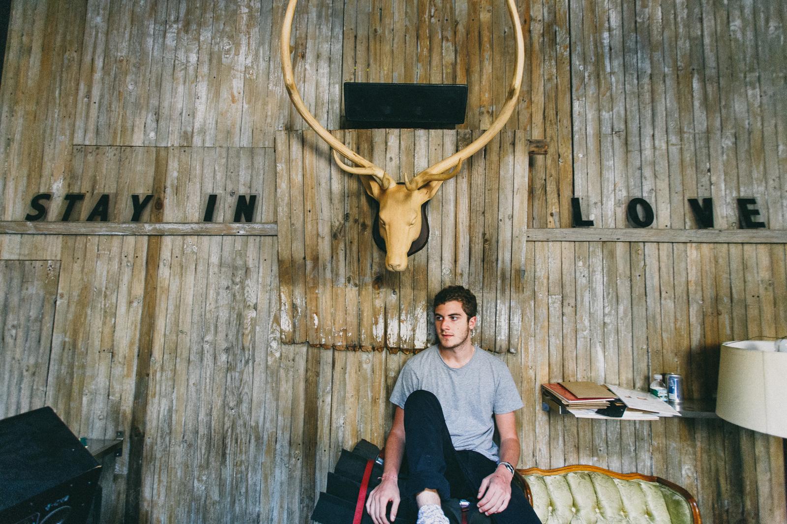 Nicolas Jaar @Marcy Hotel, Brooklyn