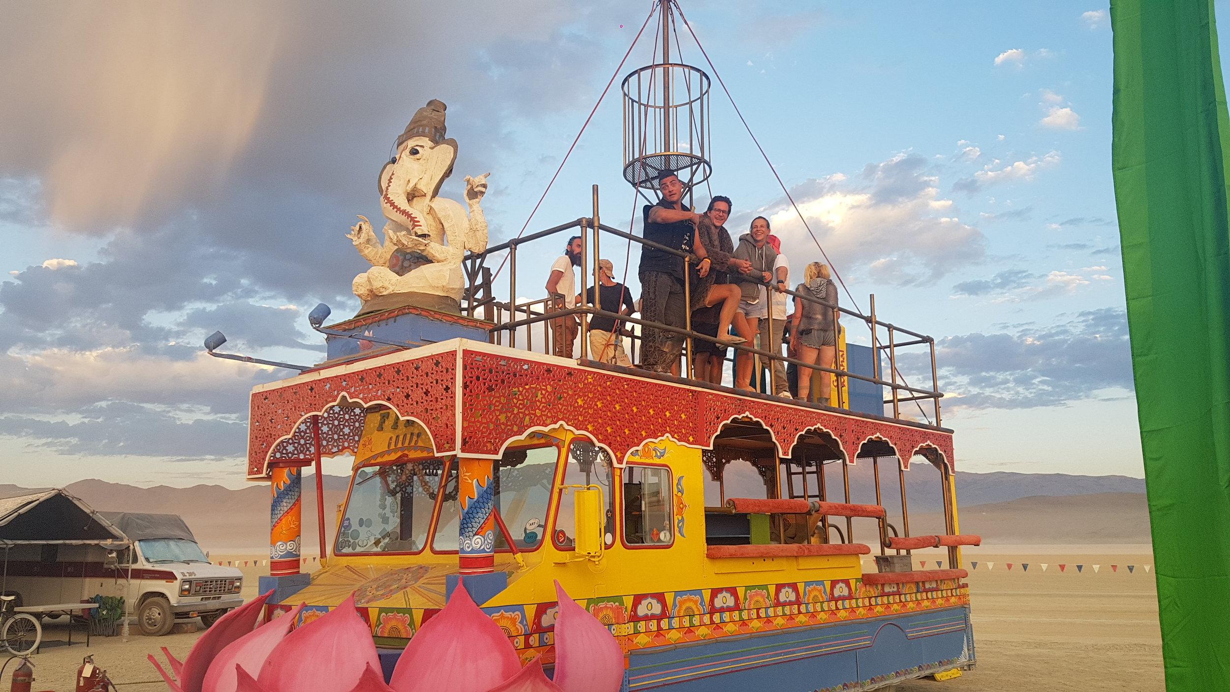 ArtCar at Burning Man