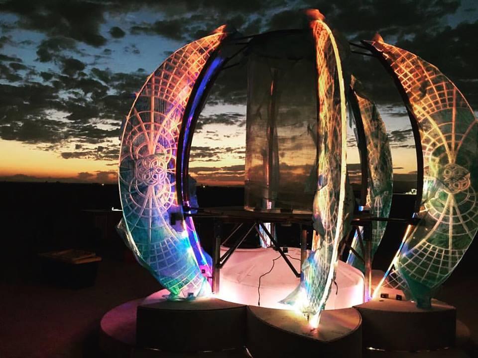Altar of Intentions at Burning Man