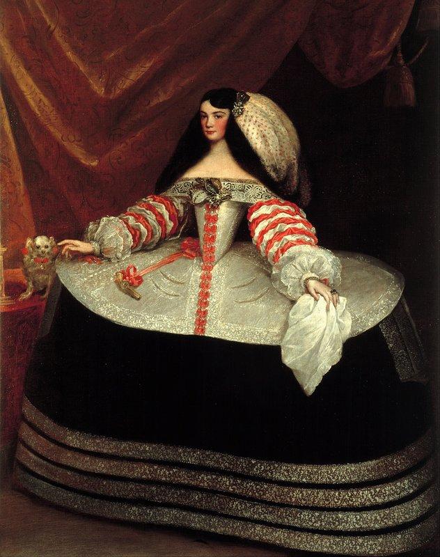 Inés de Zúñiga, Countess of Monterrey   Juan Carreño de Miranda