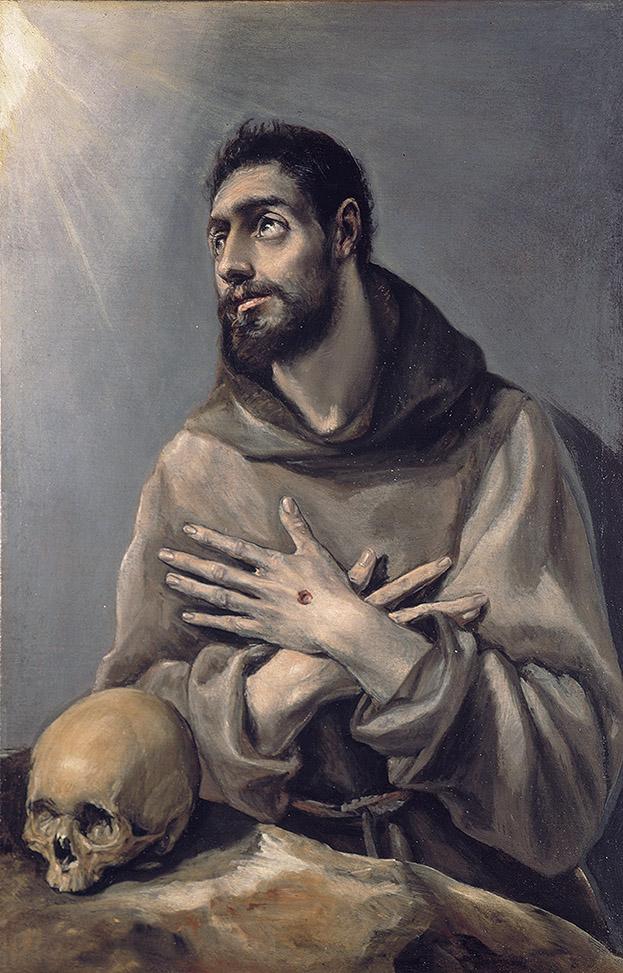 El Greco, St Francis