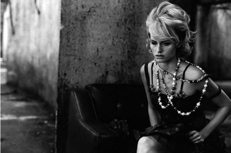 Psycho, Italian Vogue, by Peter Lindbergh
