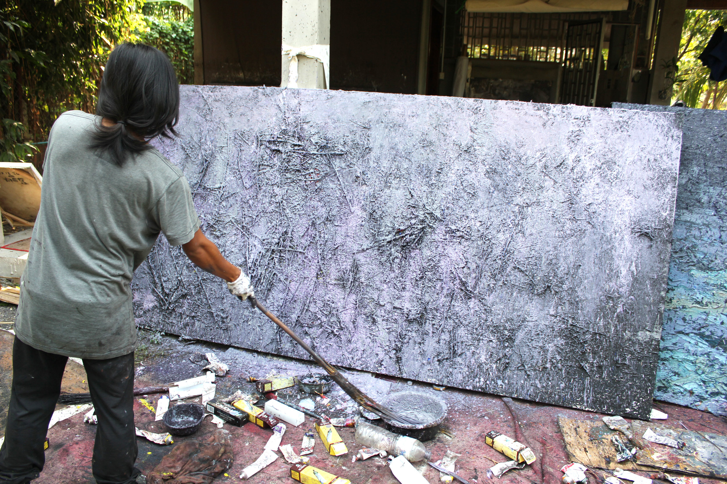 Interview with Nov Cheanick  - Cambodian Artist