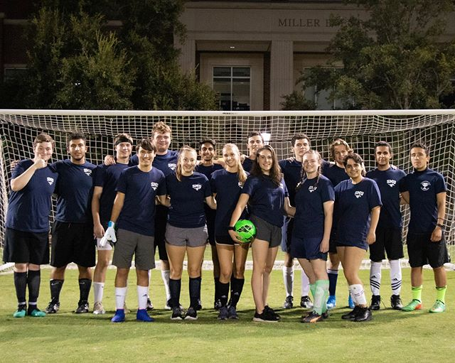 Fun night out on the intramural field for the CrumBums, we love our commons spirit!