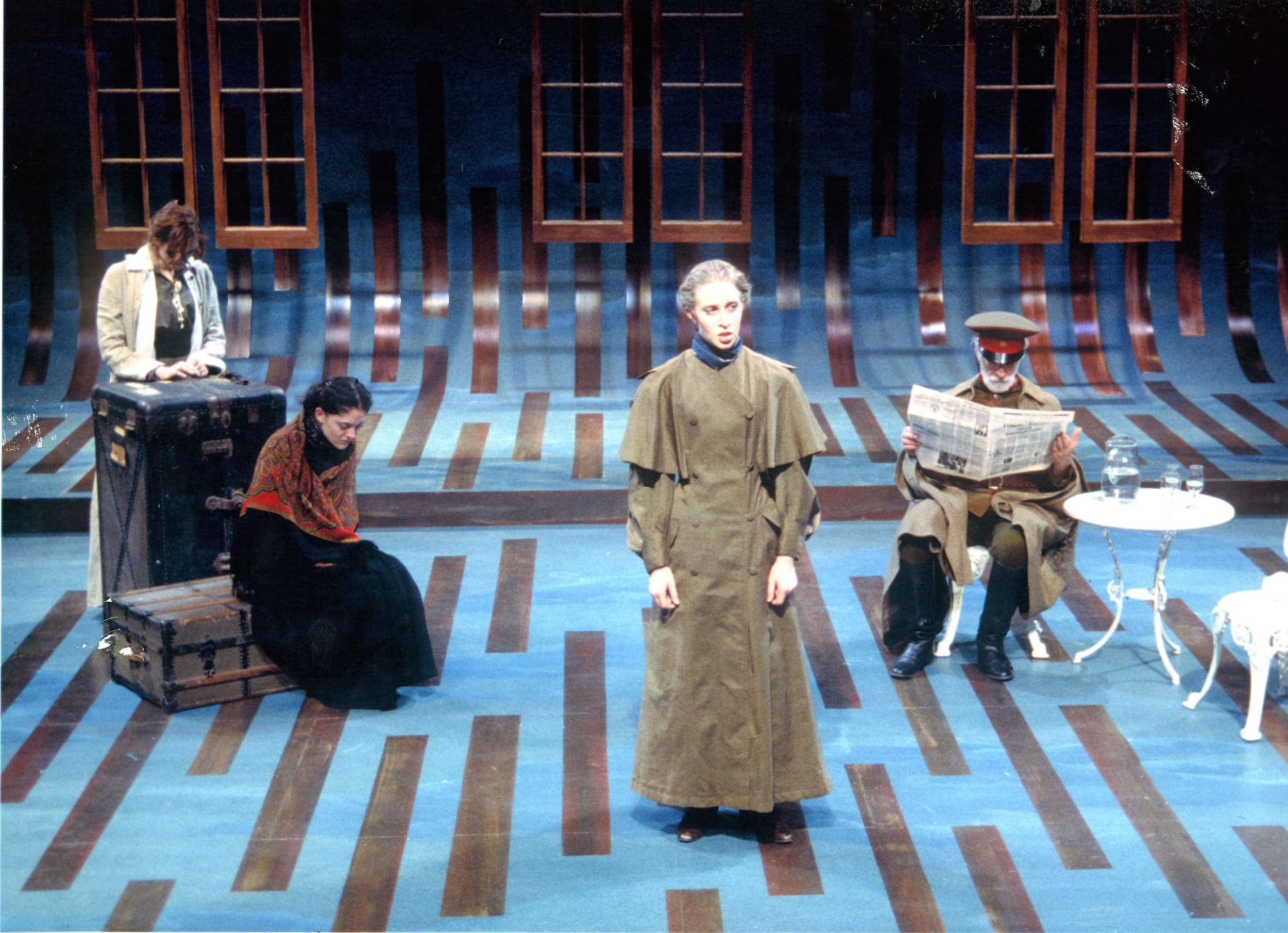 THREE SISTERS, Cornell University, 2000.