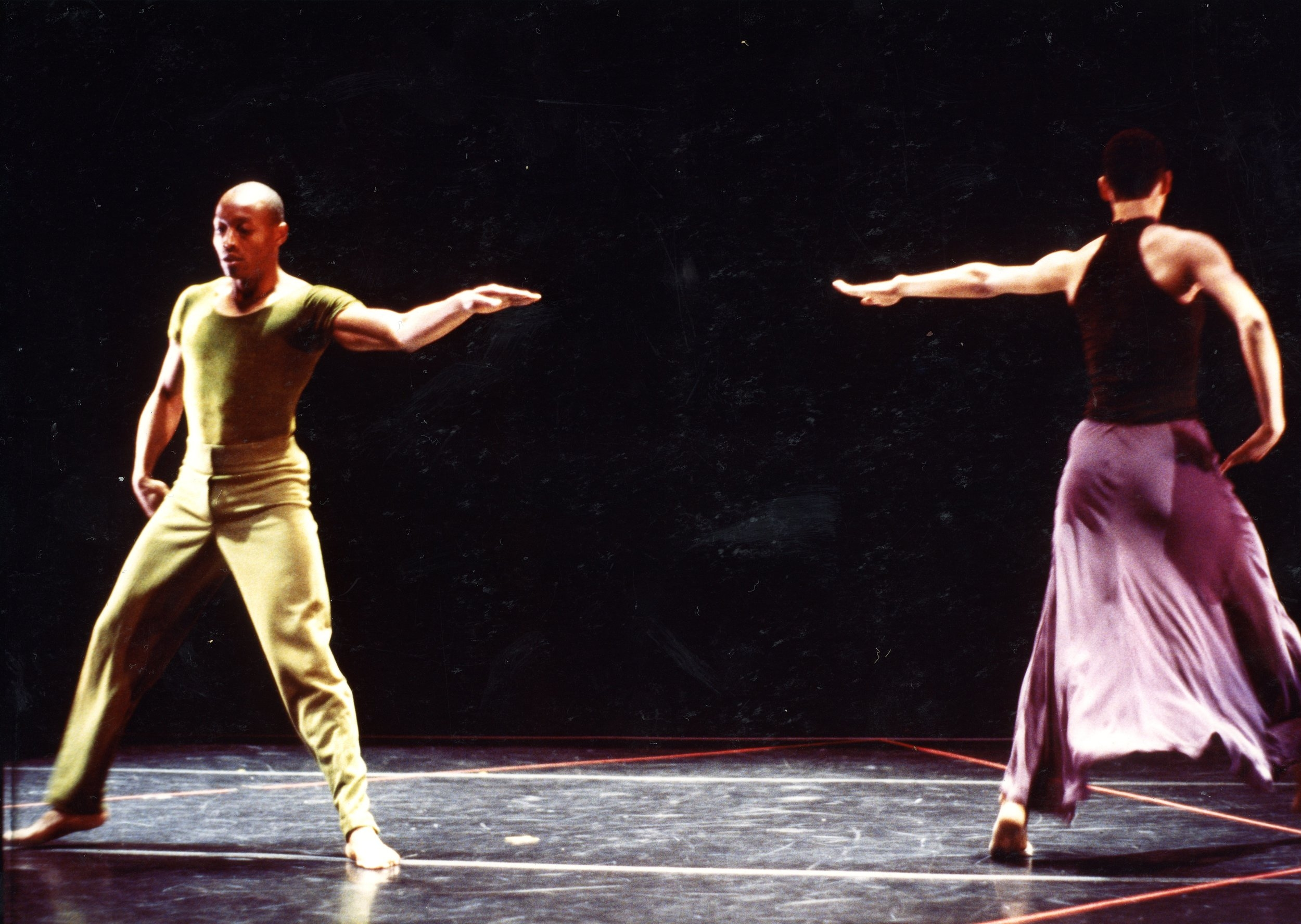 Bill T Jones and Arnie Zane dance company