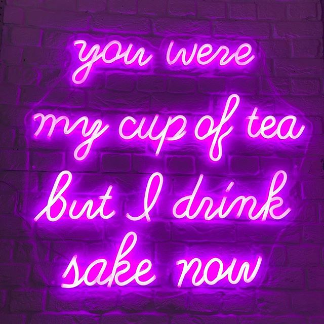 You were my cup of tea LED Neon