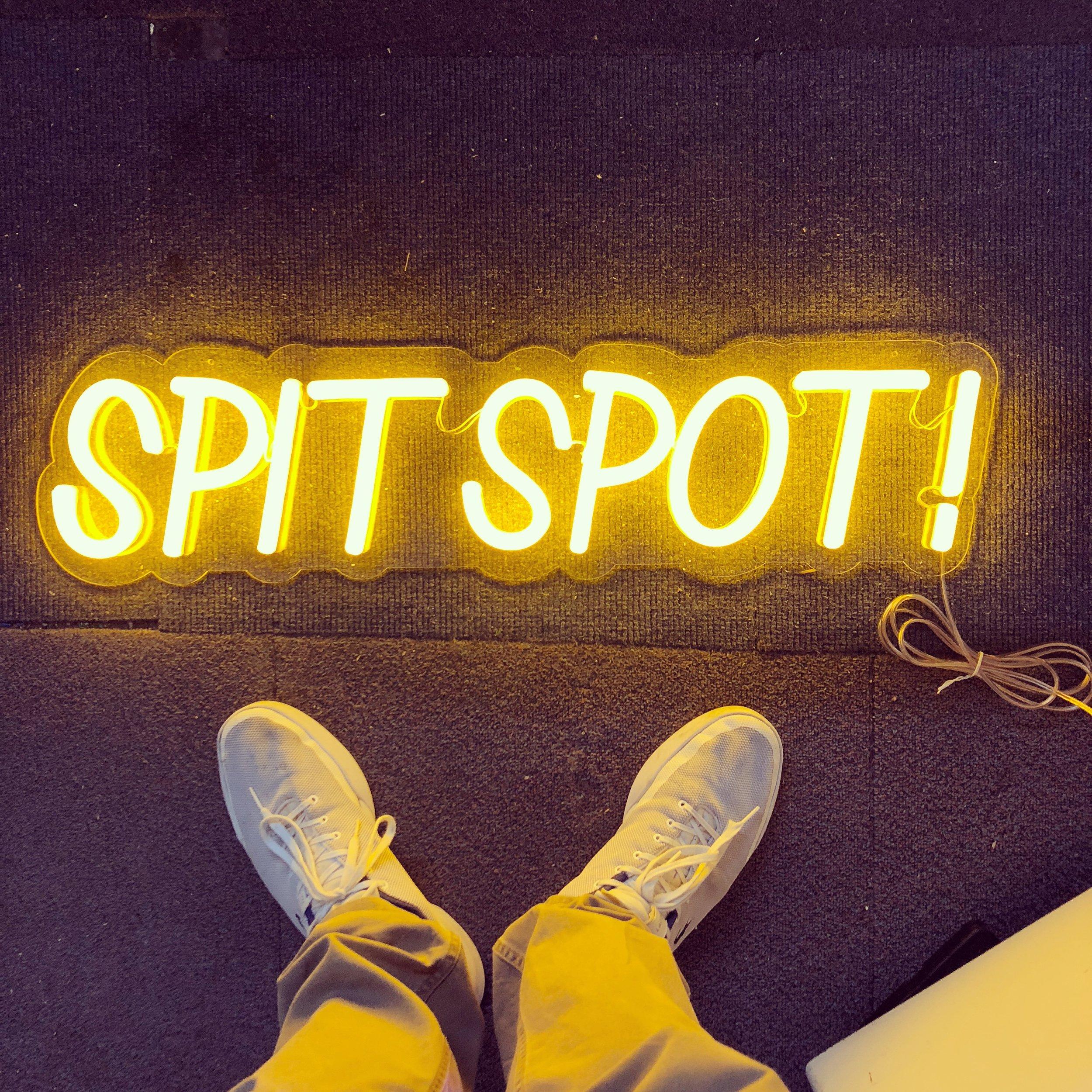 Spit Spot LED Neon