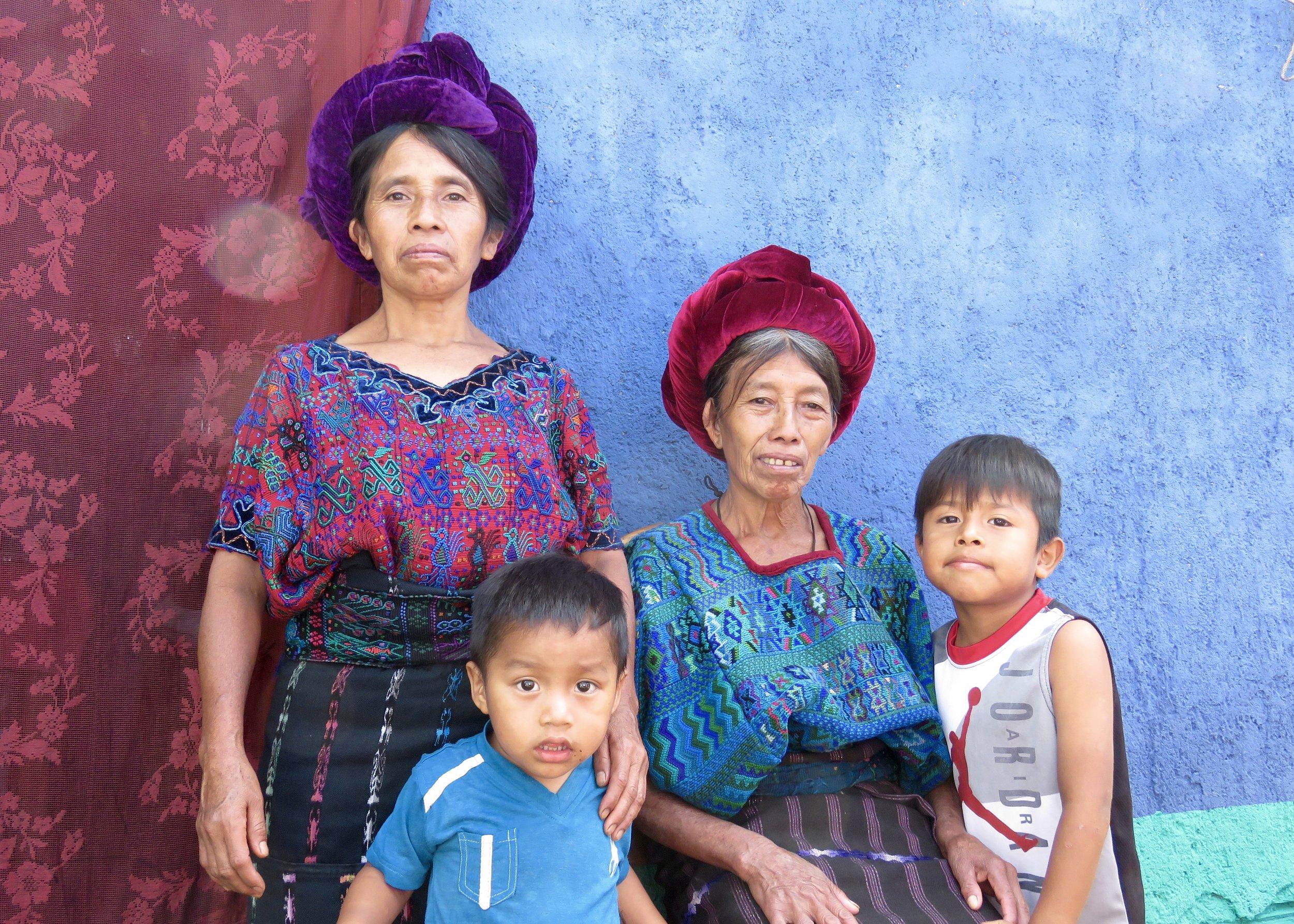 Family portrait- Santa Caterina women