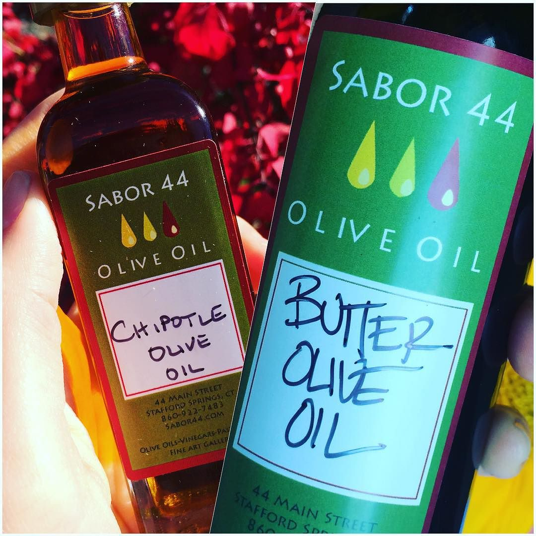 Awesome find! If you ever find yourself in Stafford Springs, CT, go to #Sabor44 Olive Oil Tap Room- a boutique shop that has #infused #organic #oliveoil. No words. Just try!   #butter #chipotle #oliveoilontap #sabor44oliveoil #bushwicknutrition #Bushwick #familytime #whoknew #lazynutrition #lazynutritionist  http://ift.tt/1jooUHi