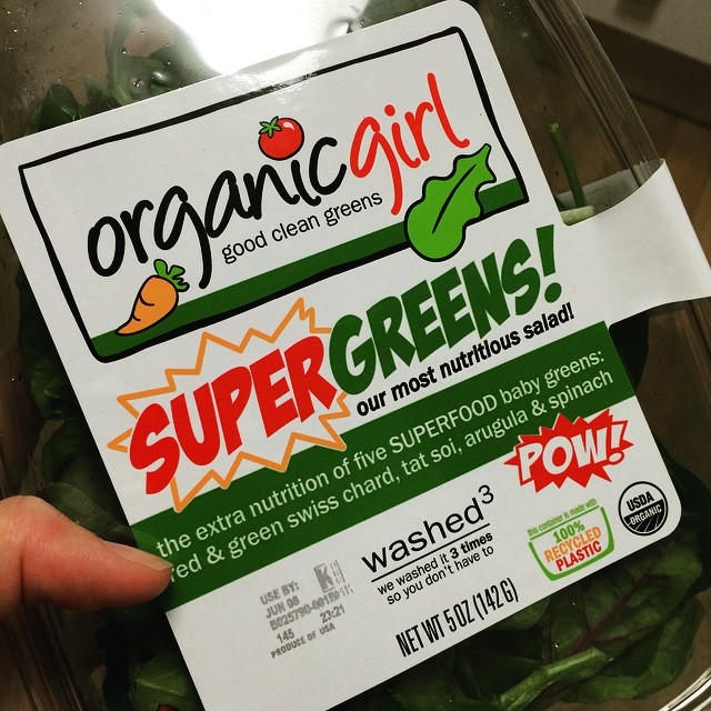 No excuses. Grab a box of #mixedgreens from @iloveorganicgirl and make a salad. #saladsareawesome #bushwick #bushwicknutrition #lazynutritionist
