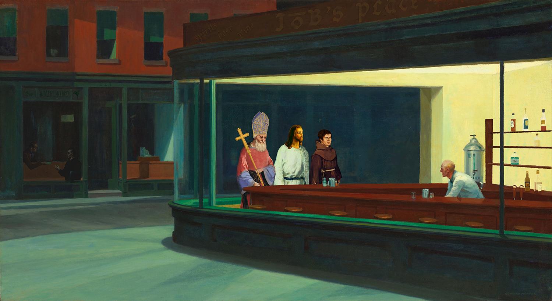 a priest, a rabbi & a minister walk into a bar ...