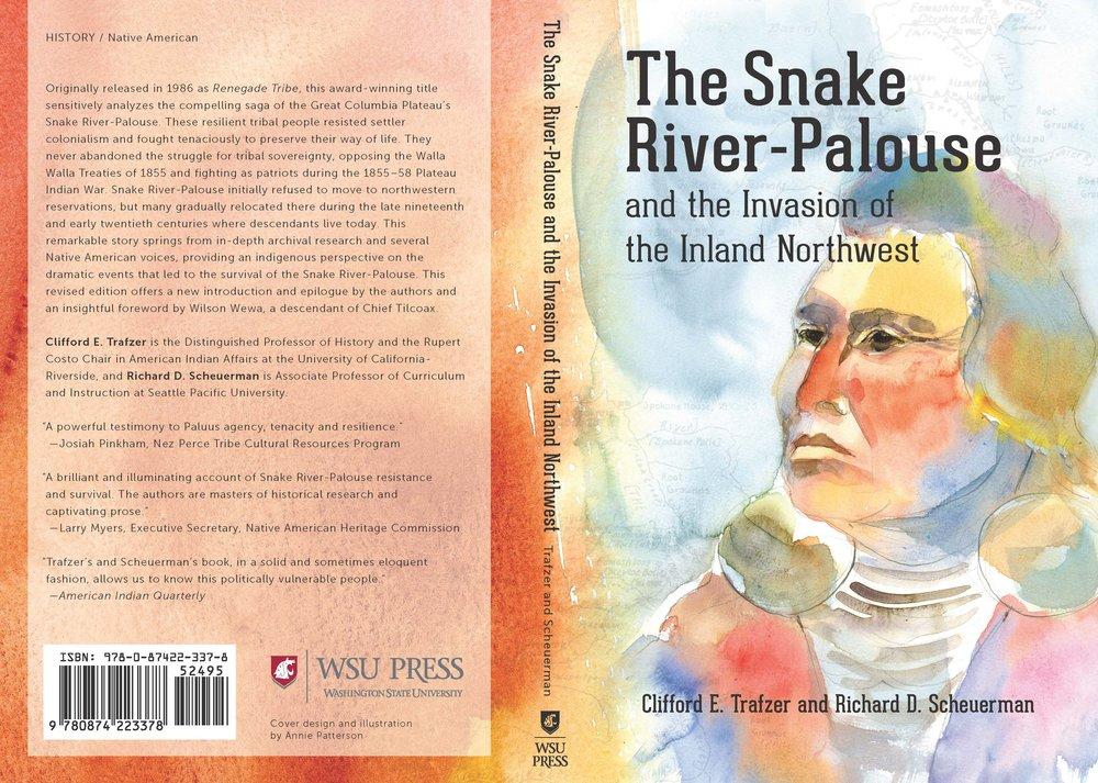 Illustration and design for book cover, WSU Press