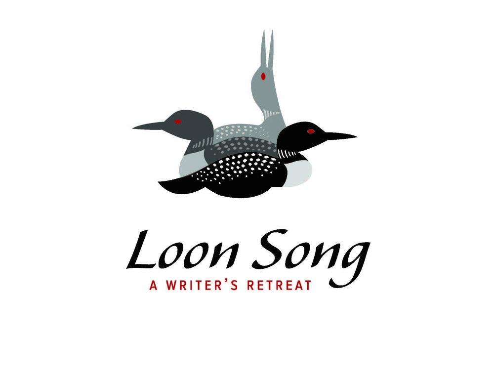 Loonsong Writer's Retreat  logo