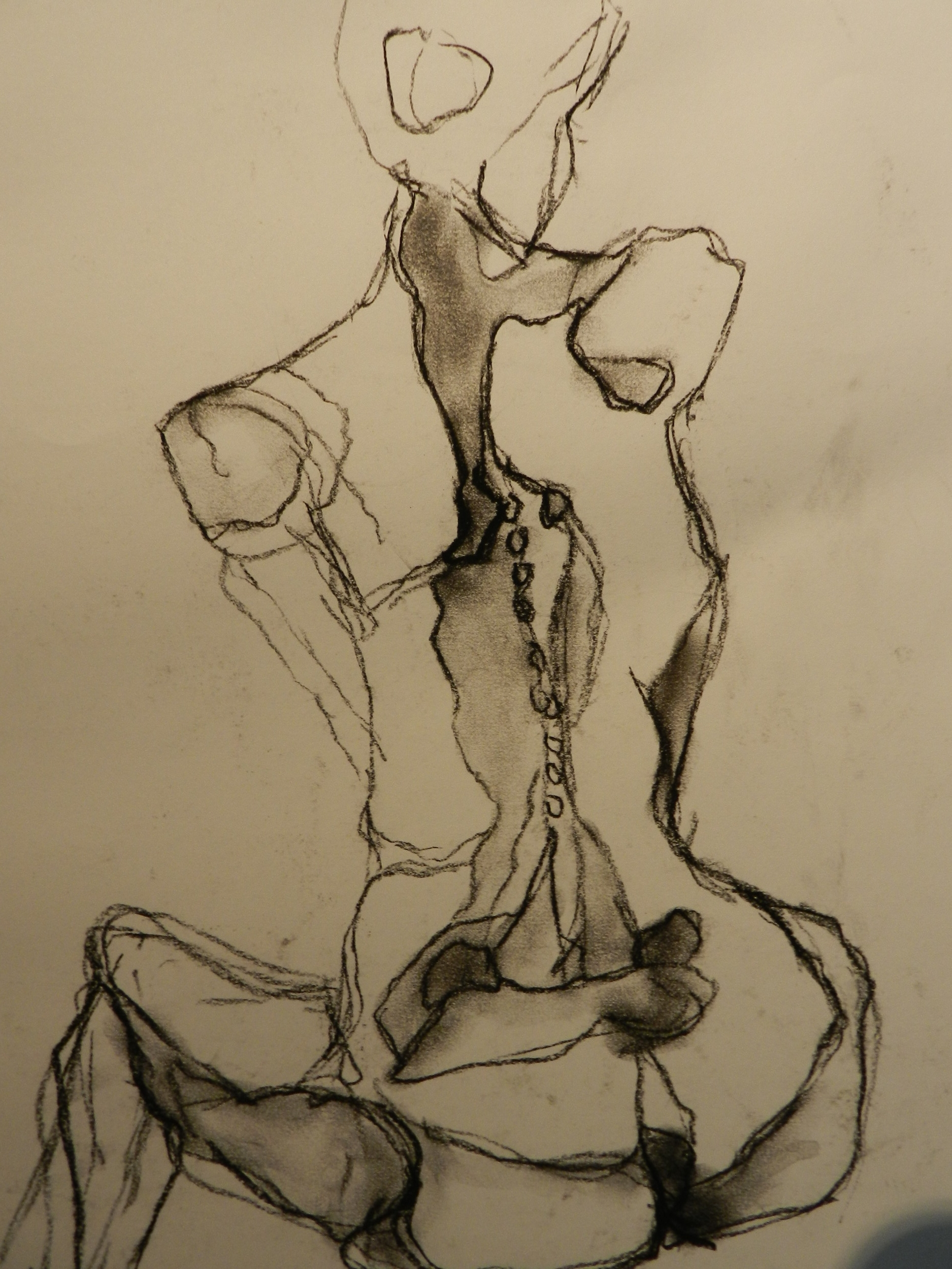 Ccharcoal on paper. 2011