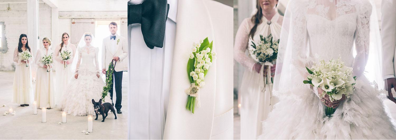 Emma Hearst + John Barker Wedding