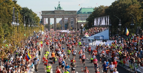 BMW Berlin Marathon finish. Image from rateruns.com.