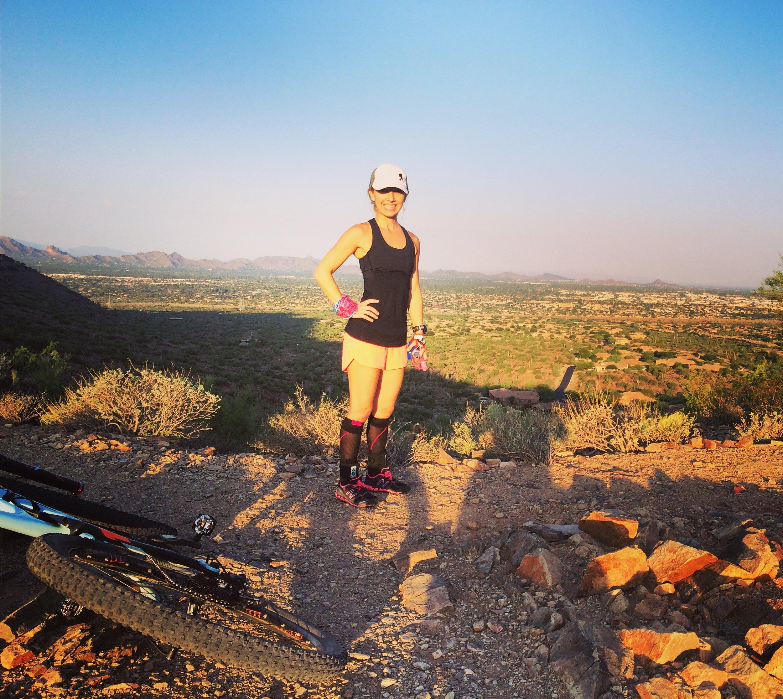 Jill AZ trail.JPG