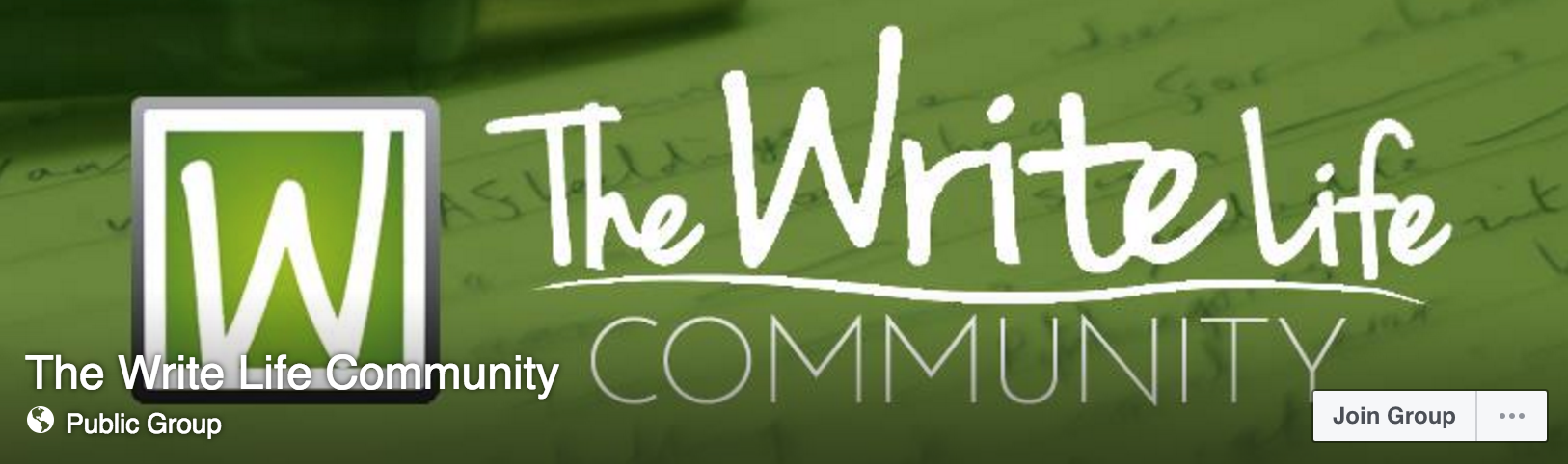 The Write Life Community Facebook Group