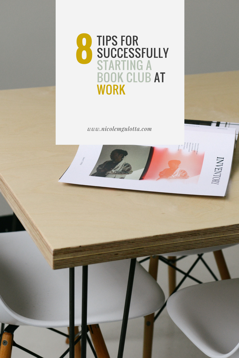 The Ultimate Guide to Starting a Book Club at Work (+FREE Checklist)