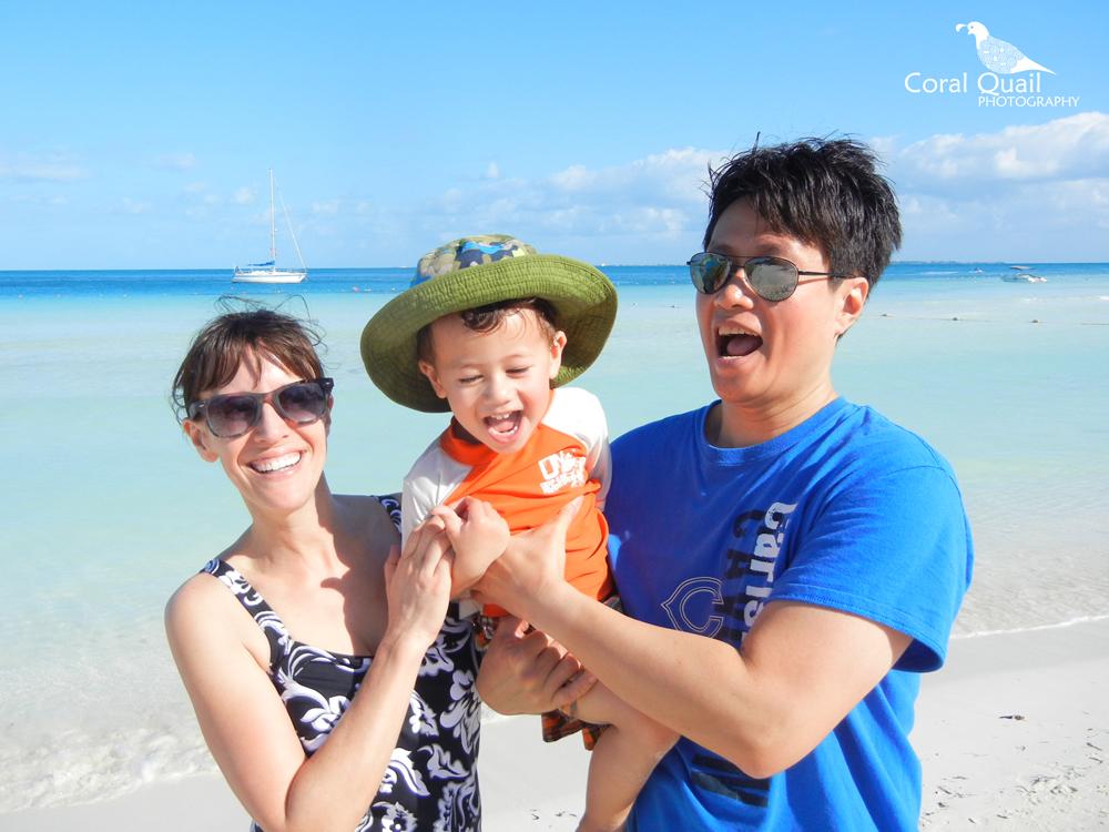 The Anselmo Family, AKA Team Coral Quail