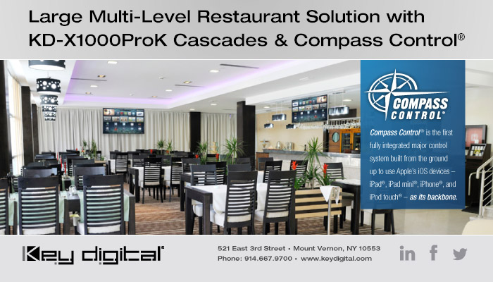 Restaurant-ECLAIRAGE-INTEGRATION-SOLUTIONSINTELLIGENTES-LUTRON-ECLAIRAGE-AUDIO-VIDEO