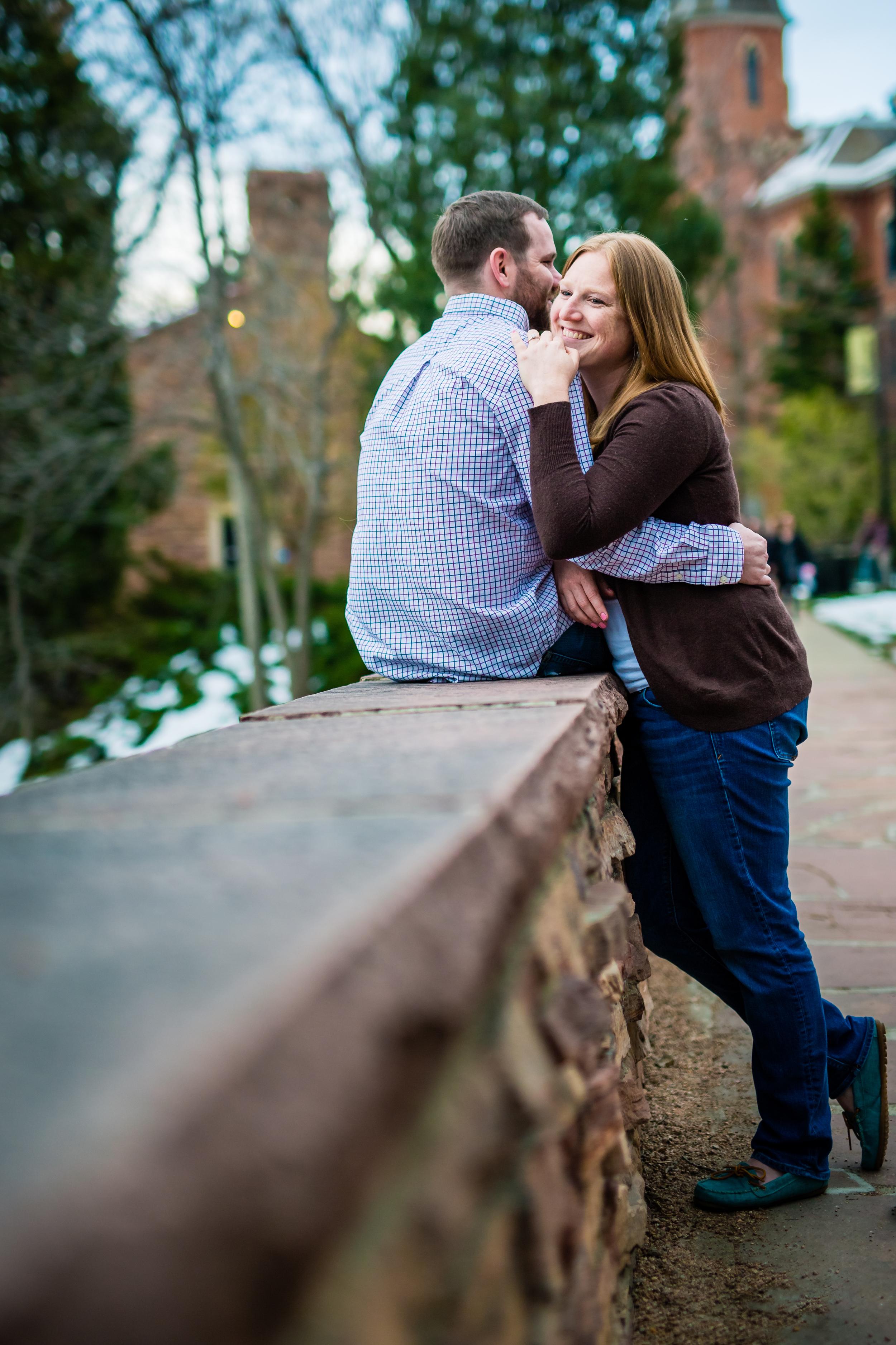 Engagements taken at CU in Boulder Colorado.