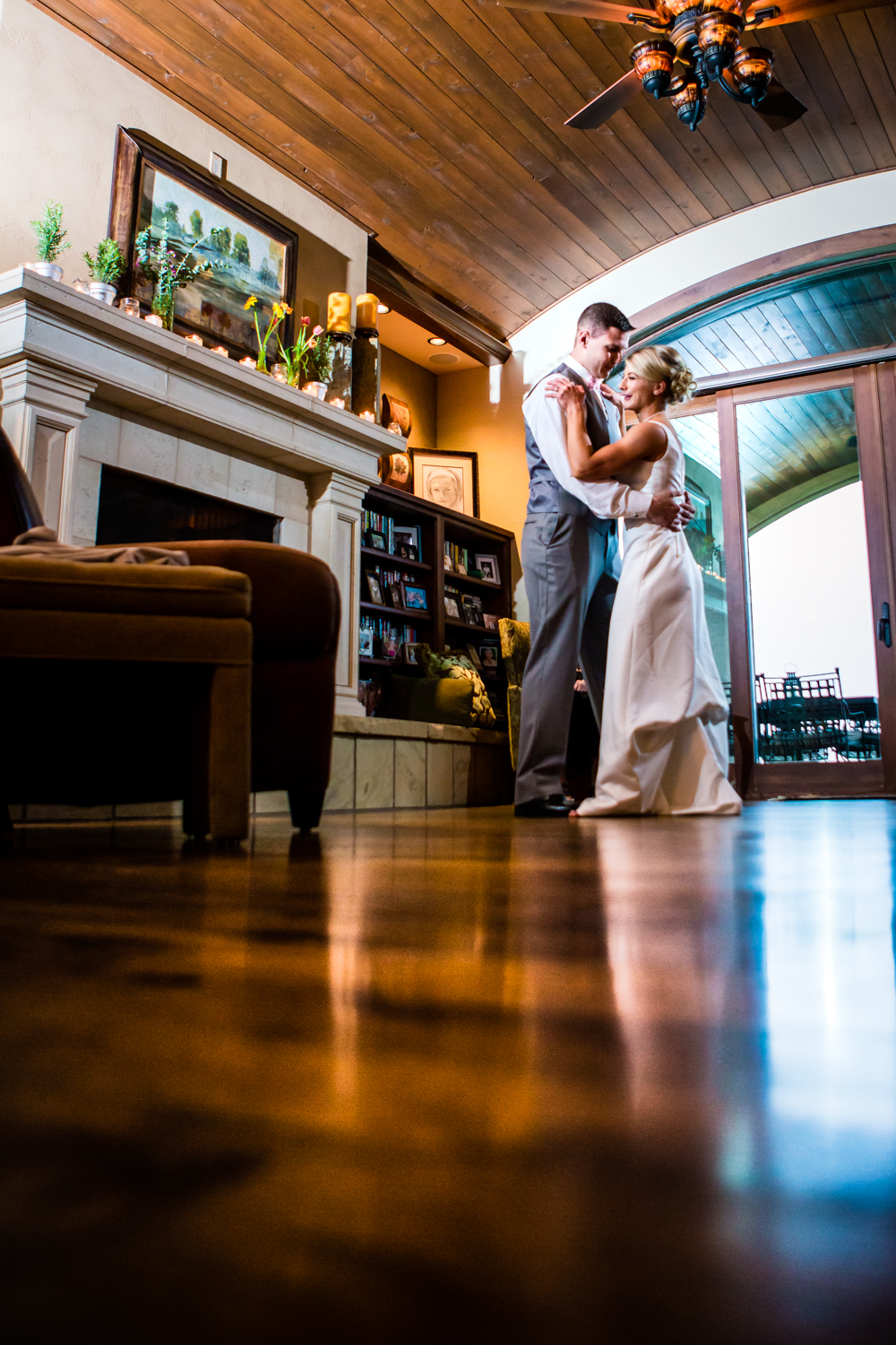 Bride and groom's first dance.  www.jmgantphotography.com