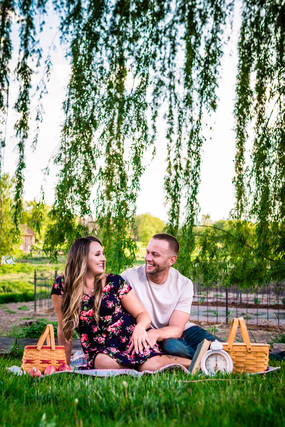 Picnic Engagments at Sandstone Ranch. Take by Jared M. Gant