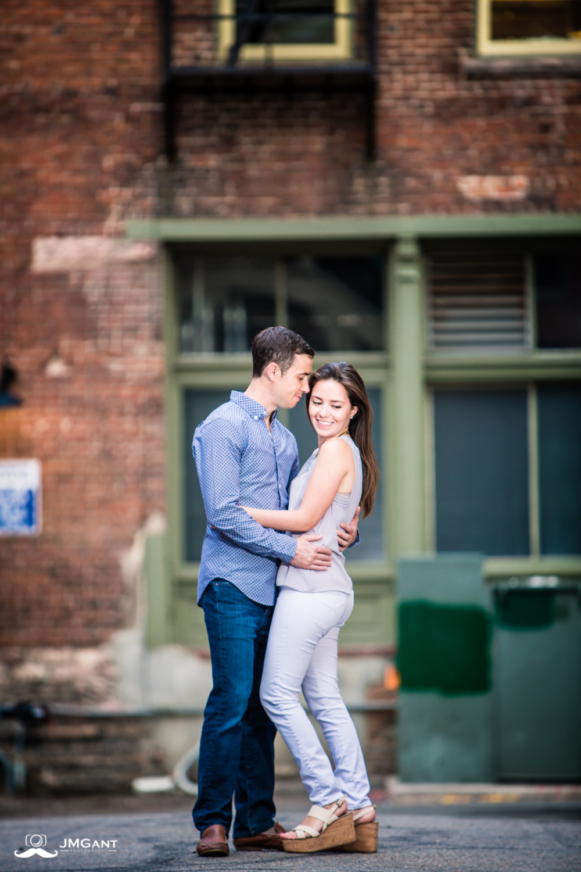 Denver Colorado Engagement pictures by Jared M. Gant.