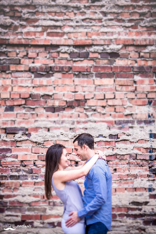 Downtown Denver engagement photographs by Jared M. Gant