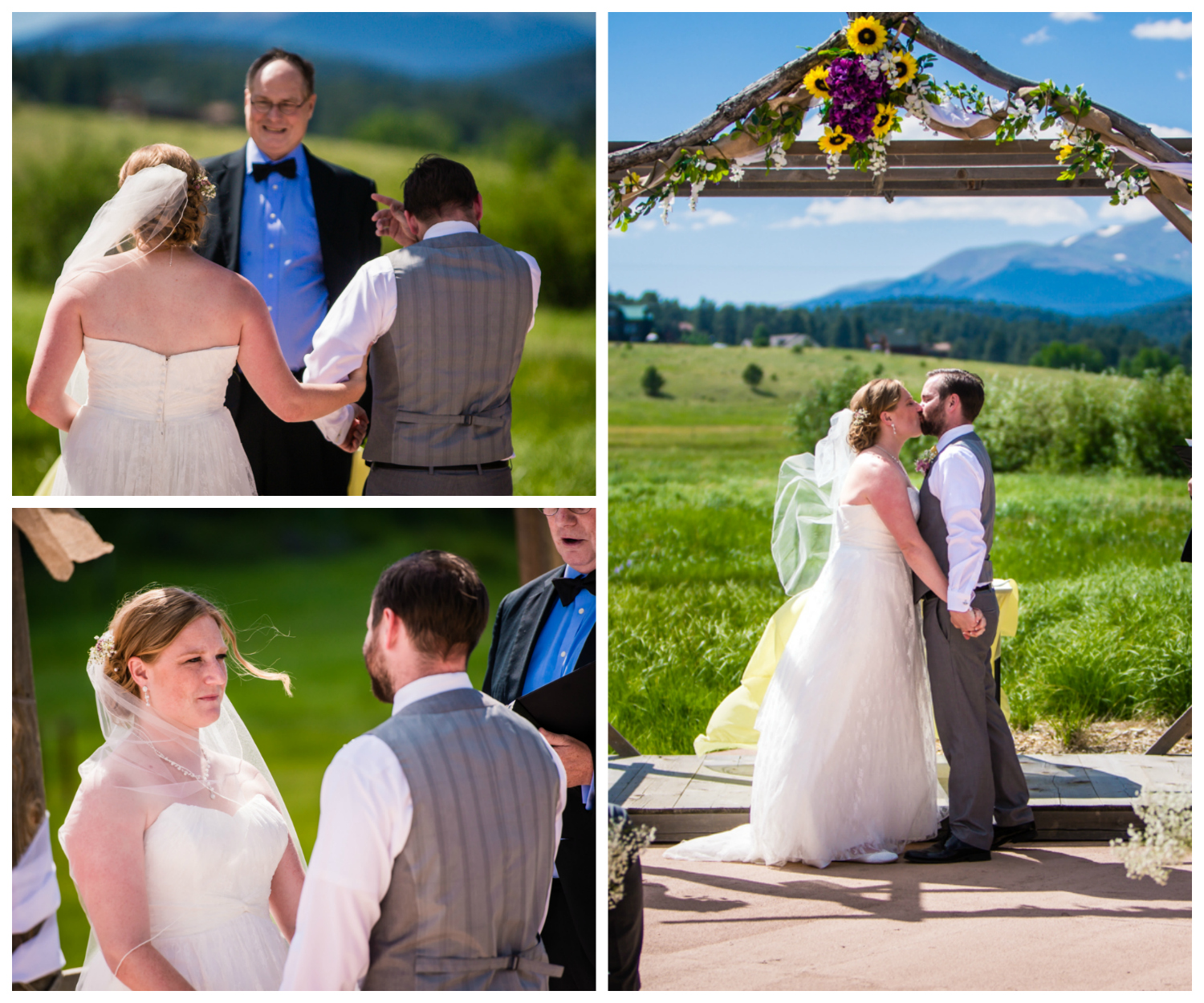 Deer Creek Valley Ranch Wedding. Photographed by JMGant Photography.
