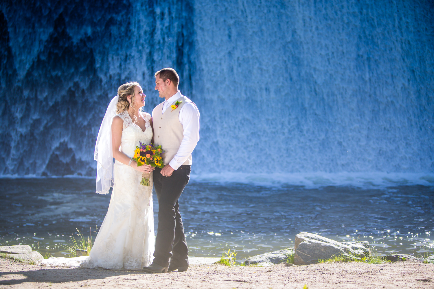 Evergreen Colorado Wedding photographed by JMGant Photography