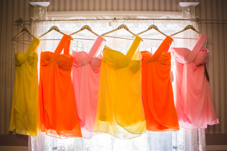 Bridesmaids dress.Photographed by JMGant Photography.